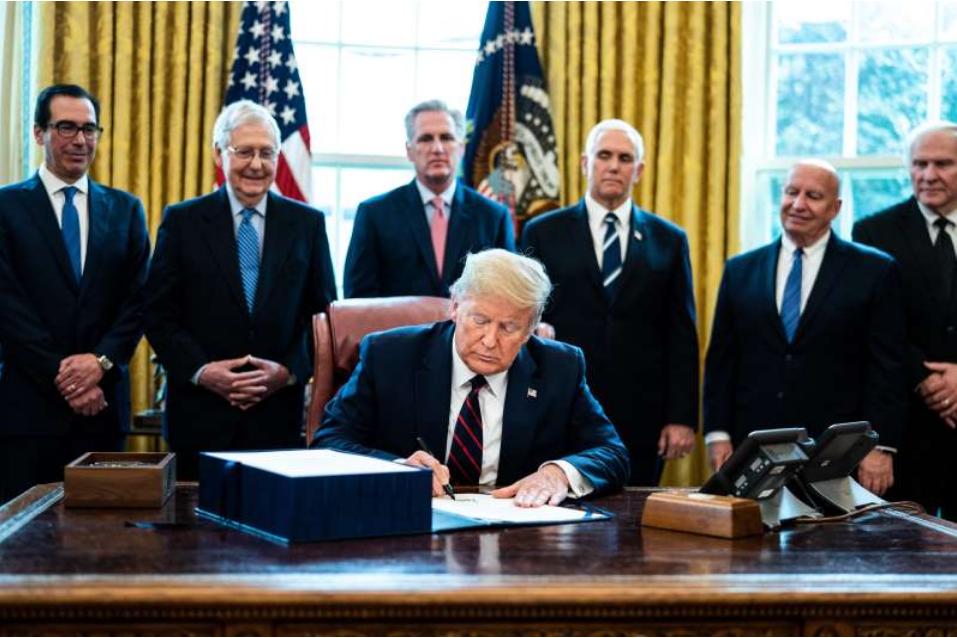 白宫正在计划削减对世界卫生组织的援助